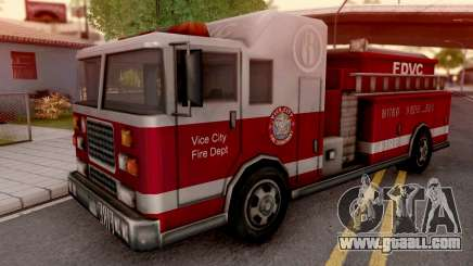 Firetruck from GTA VC for GTA San Andreas