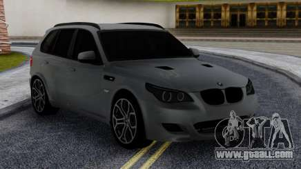 BMW X5M E70 with M5 E60 face for GTA San Andreas