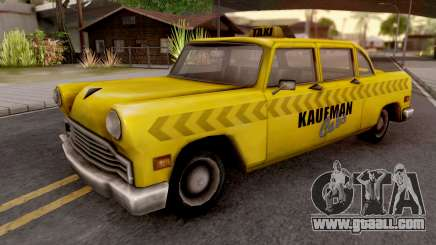 Kaufman Cab from GTA VC for GTA San Andreas