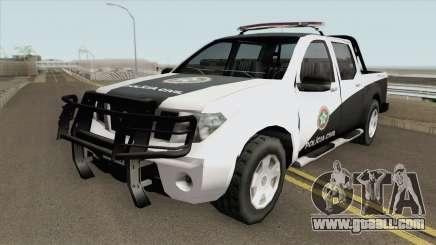 Nissan Frontier - Polícia Civil RJ for GTA San Andreas