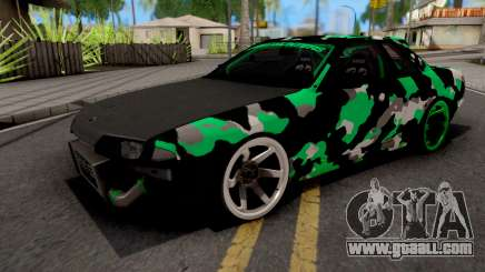 Nissan Skyline R32 Drift Camo v4 for GTA San Andreas