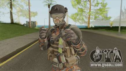 Merc V2 (Call of Duty: Black Ops II) for GTA San Andreas