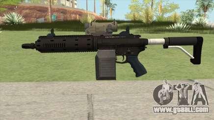 Carbine Rifle GTA V V1 (Flashlight, Tactical) for GTA San Andreas