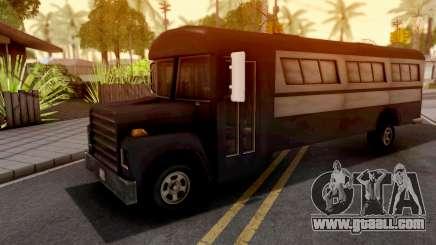 Bus GTA III Xbox for GTA San Andreas