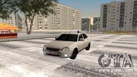 Lada Priora Oper Style for GTA San Andreas