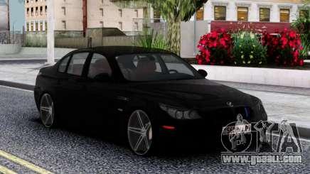 BMW Black M5 E60 for GTA San Andreas
