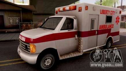 Ambulance GTA III Xbox for GTA San Andreas