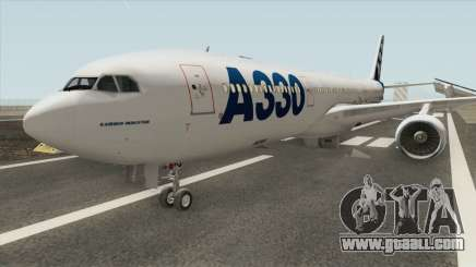 Airbus A330-300 GE CF6-80E1 for GTA San Andreas