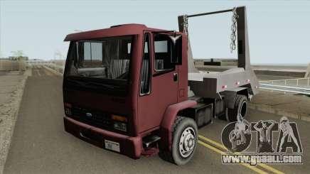 Ford Cargo 1415 (DFT30 Edition) Entrulho for GTA San Andreas
