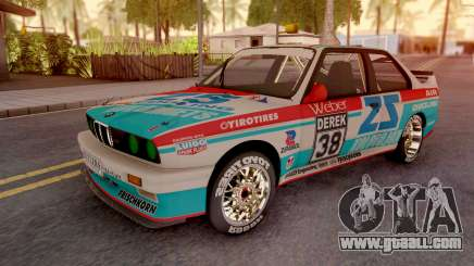 BMW M3 E30 DTM for GTA San Andreas