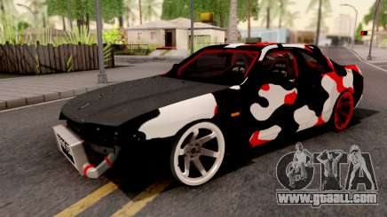Nissan Skyline R33 Drift Camo for GTA San Andreas