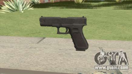 Glock 17 Black for GTA San Andreas