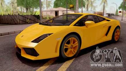 Lamborghini Gallardo LP560 Yellow for GTA San Andreas