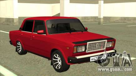 VAZ 2107 Sedan Red for GTA San Andreas