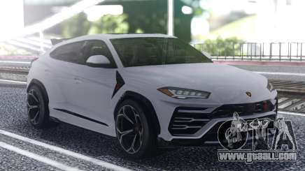 Lamborghini Urus 2019 White for GTA San Andreas