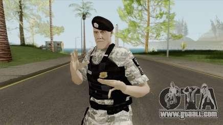 Brazilian Police Skin V3 for GTA San Andreas