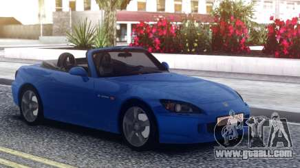 Honda S2000 Cabrio Blue for GTA San Andreas