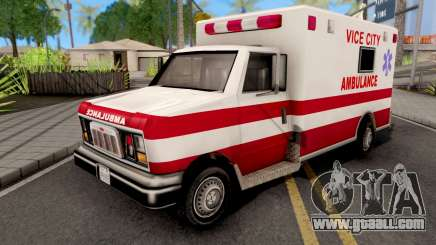 Ambulance GTA VC Xbox for GTA San Andreas