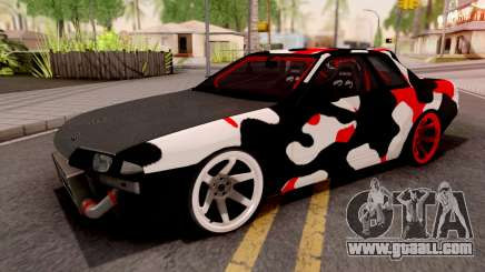 Nissan Skyline R32 Drift Camo v2 for GTA San Andreas
