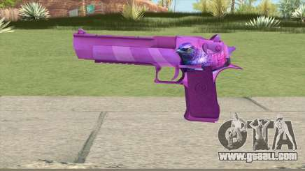 Desert Eagle (Purple) for GTA San Andreas