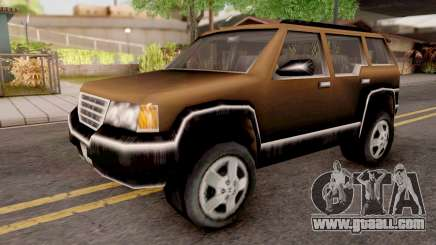 Landstalker from GTA 3 Brown for GTA San Andreas