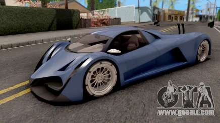 Devel Sixteen Blue for GTA San Andreas