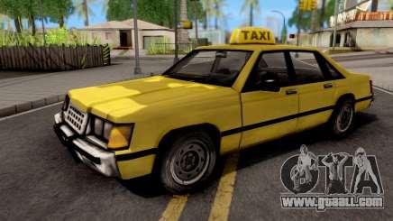 Taxi GTA VC Xbox for GTA San Andreas