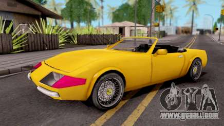 Stinger GTA VC Xbox for GTA San Andreas