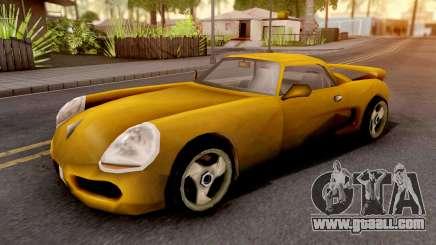 Yakuza Stinger GTA III Xbox for GTA San Andreas