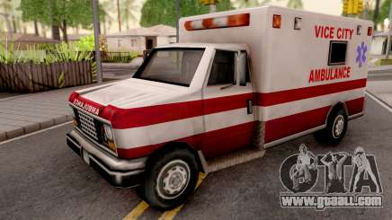 Ambulance from GTA VC for GTA San Andreas