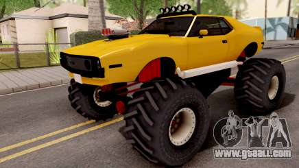 AMC Javelin Monster Truck 1971 for GTA San Andreas