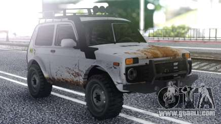 Niva 2121 Offroad 4x4 for GTA San Andreas