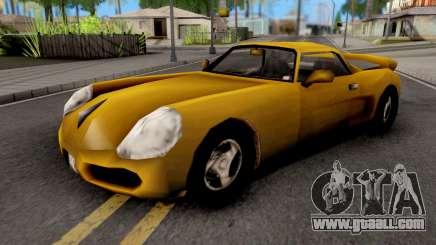 Yakuza Stinger GTA III for GTA San Andreas