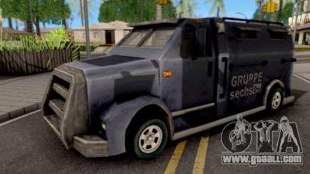 Securicar GTA III Xbox for GTA San Andreas