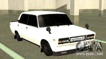 VAZ 2105 BK White for GTA San Andreas
