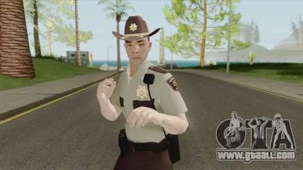 Arklay County Sheriff V2 Resident Evil 2 Remake for GTA San Andreas