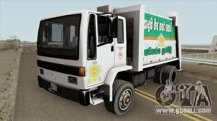 Mercedes-Benz Sri Lankan Trash Truck for GTA San Andreas