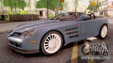 Mercedes-Benz SLR 722 Roadster for GTA San Andreas