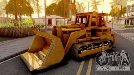 GTA V HVY Dozer v2 for GTA San Andreas