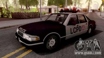 Police Car GTA III Xbox for GTA San Andreas