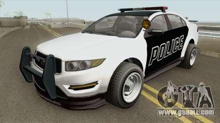Vapid Unnamed Police Interceptor V2 GTA V for GTA San Andreas