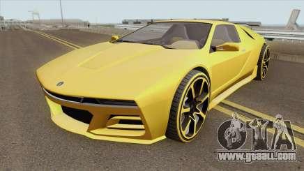 Ubermacht SC1 GTA V for GTA San Andreas