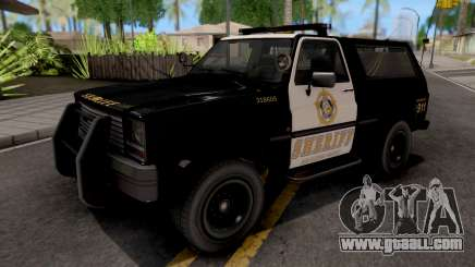 GTA IV Declasse Sheriff Rancher IVF for GTA San Andreas