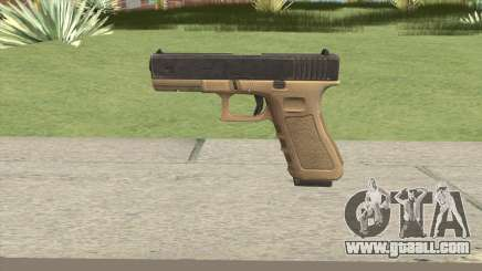 Glock 17 Tan for GTA San Andreas
