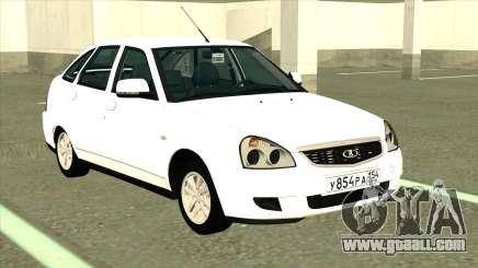 VAZ 2172 Stok White for GTA San Andreas