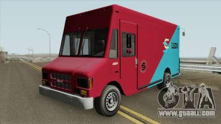 Brute Boxville GTA V IVF for GTA San Andreas