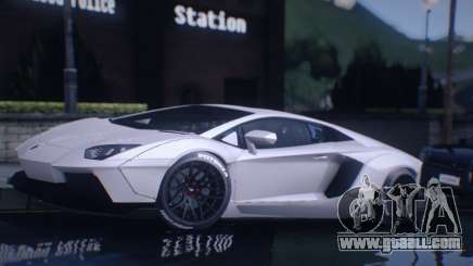 Lamborghini Aventador Coupe for GTA San Andreas