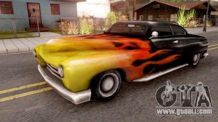 Cuban Hermes from GTA VC for GTA San Andreas
