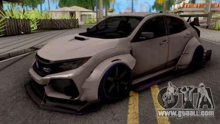 Honda Civic Type-R Grey for GTA San Andreas
