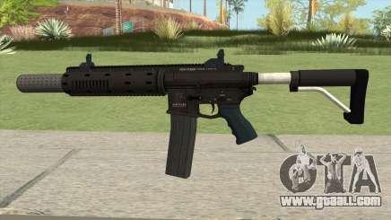 Carbine Rifle GTA V Silenced (Extended Clip) for GTA San Andreas